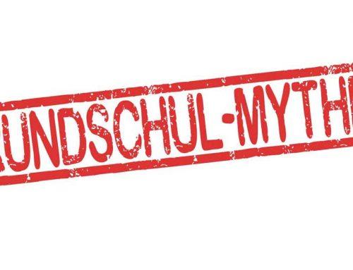 Mythen der Grundschule